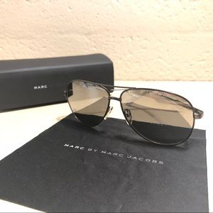 Marc by Marc Jacobs Sunglasses, Aviator Style